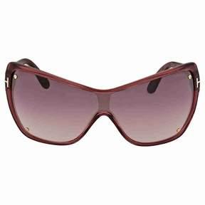 Tom Ford Ekaterina Purple Gradient Sunglasses