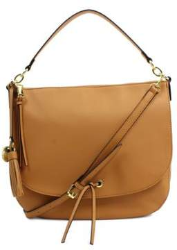 London Fog Hayle Vegan Leather Hobo Bag