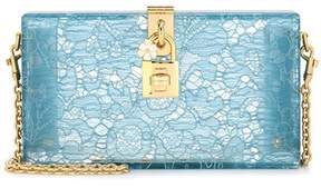 Dolce & Gabbana Exclusive to mytheresa.com – Dolce Box lace clutch - BLUE - STYLE