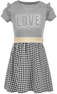 Epic Threads Little Girls Layered-Look Graphic-Print Dress, Created for Macy's