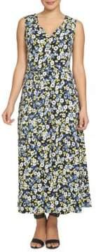 Chaus Bohemian Bloom Bouquet Terrain Tie Waist Dress