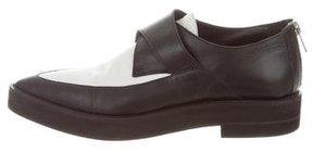 Helmut Lang Leather Platform Loafers