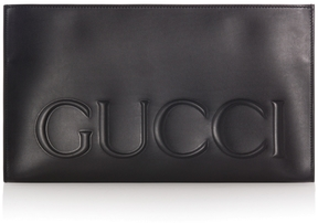 Gucci Embossed Logo Clutch - ONE COLOR - STYLE