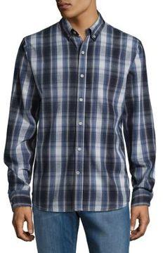 Joe's Jeans Plaid Button-Down Shirt