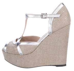 Barbara Bui Platform Wedge Sandals