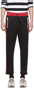 Diesel Black and Red P-Russi Lounge Pants