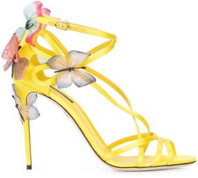 Dolce & Gabbana Keira sandals with butterfly appliqués