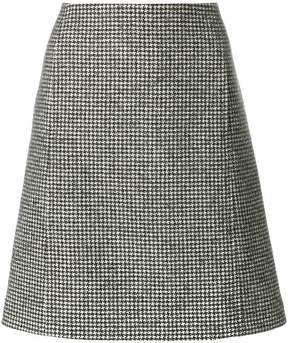 A.P.C. houndstooth skirt