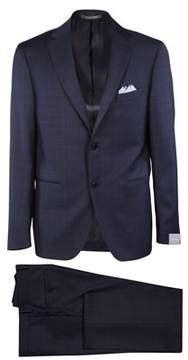 Cantarelli Men's 111323782491181 Blue Wool Suit.
