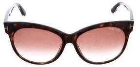Tom Ford Saskia Reflective Sunglasses