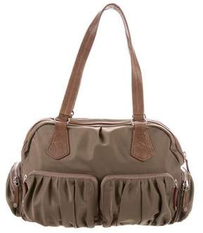 MZ Wallace Leather-Trimmed Alice Bag