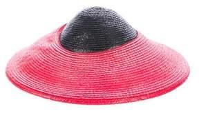 Saint Laurent Vintage Raffia Hat