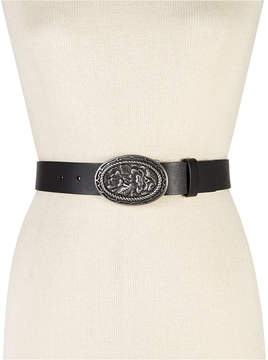 INC International Concepts Rose Plaque Pant Belt, Created for Macy's