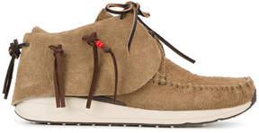 Visvim Brown FBT veggie sneakers
