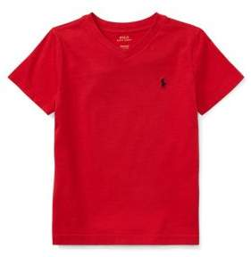 Ralph Lauren Little Boy's Cotton V-neck Tee