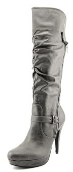 G by Guess Drea Wide Calf Women Round Toe Synthetic Knee High Boot.