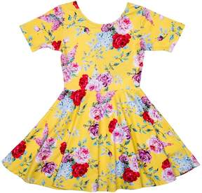 Rock Your Baby Floral Waisted Dress