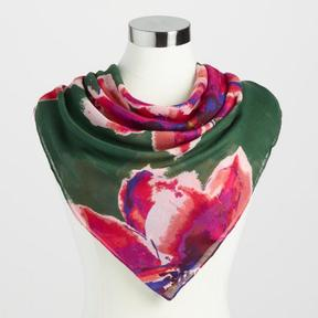 World Market Square Floral Annabelle Scarf