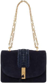 Altuzarra Ghianda Braided Chain Shoulder Bag, Blue