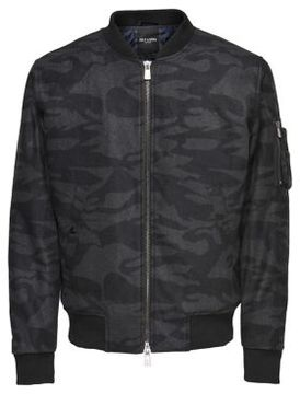 ONLY & SONS Zip-Front Bomber Jacket