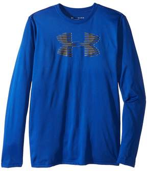 Under Armour Kids Tech Big Logo Long Sleeve Boy's Long Sleeve Pullover