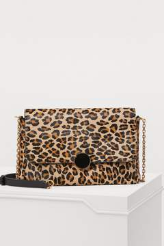 Vanessa Bruno Moon leopard-print shoulder bag
