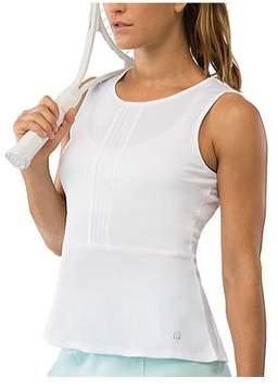Fila Women's Net Set Peplum Top