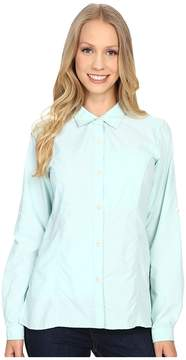 Exofficio Lightscapetm Long Sleeve Shirt Women's Long Sleeve Button Up