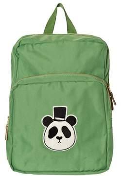 Mini Rodini Green Panda Backpack