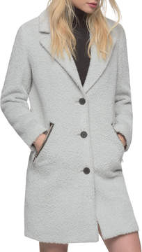 Andrew Marc Women's Charlotte Wool Spread Top Coat