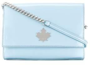 DSQUARED2 Women's Light Blue Pvc Shoulder Bag.