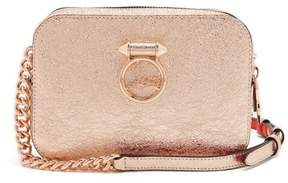 Christian Louboutin Rubylou Leather Cross Body Bag - Womens - Rose Gold