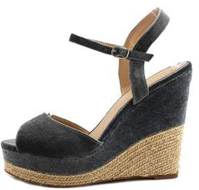 Zigi Womens Caridee Fabric Open Toe Special Occasion Espadrille Sandals.