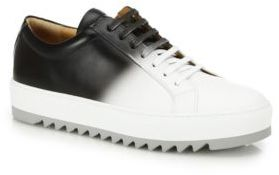 Salvatore Ferragamo Lan8 Ombre Leather Sneakers