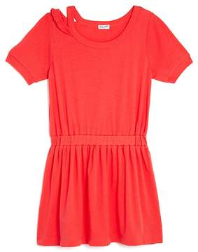 Splendid Girls' Distressed Shirt Dress - Big Kid