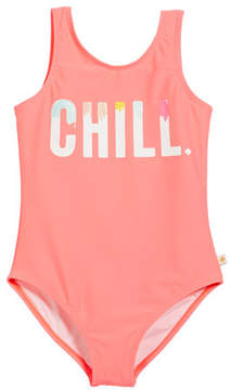 Kate Spade Chill One-Piece Swimsuit, Size 7-14