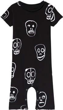 Nununu Black Skull Mask Playsuit