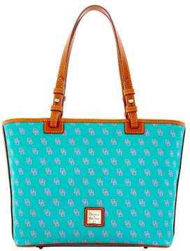 Dooney & Bourke Gretta Small Leisure Shopper Tote - SPEARMINT LAVENDER - STYLE