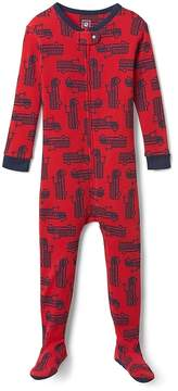 Gap Firetruck Footed One-Piece