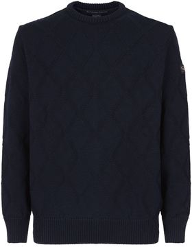 Paul & Shark Knitted Round Neck Sweater