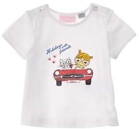 Chicco Girls' White T-shirt.