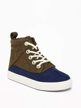 Old Navy Color-Block High-Tops for Toddler Boys