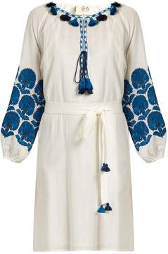 Figue Coco embroidered cotton dress