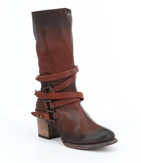 Freebird Coy Buckle Strap Tall Boots