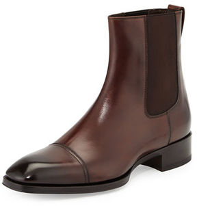 Tom Ford Gianni Leather Chelsea Boot