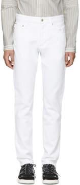 Ami Alexandre Mattiussi White Ami Fit Jeans