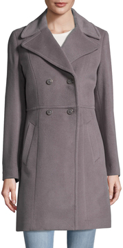 Cole Haan Women's Double Breasted Wool Coat