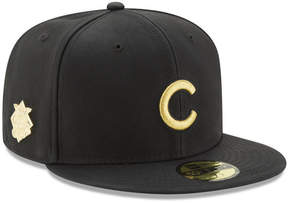 New Era Chicago Cubs The League Metallic Patch 59FIFTY Fitted Cap
