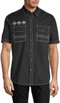 Affliction Men's Ruminate Cotton Button-Down Shirt