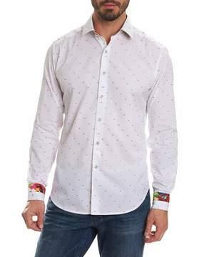 Robert Graham Limited Edition Dot-Print Sport Shirt
